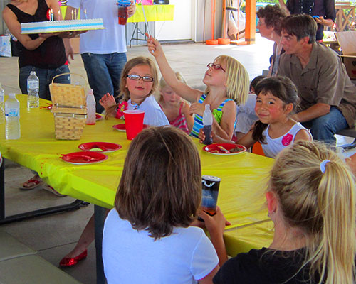 Birthdays at The Walters' Farm near Wichita, Kansas are an unforgettably fun experience for everyone!