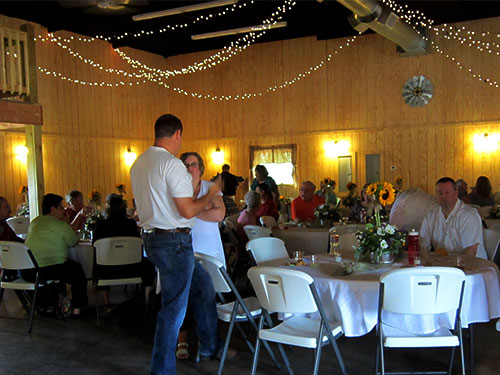 The event barn at The Walter's Farm near Wichita, Kansas is perfect for weddings, receptions, balls, concerts, and more!